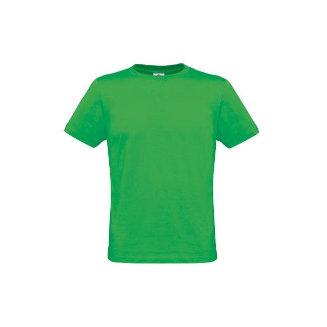 Heren t shirts in felle groene kleur