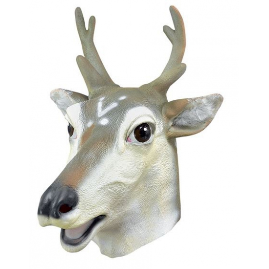 Hert masker van rubber