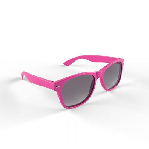 Hippe zonnebril roze montuur