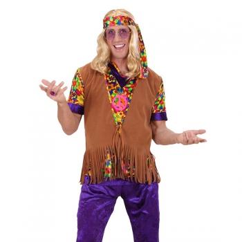 Hippie franje vest voor heren