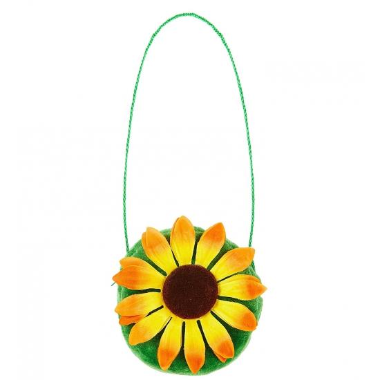 Hippie handtasje zonnebloem
