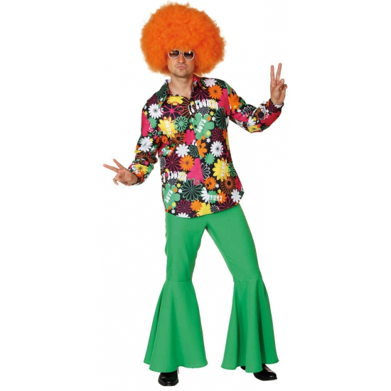 Hippie verkleerdkleding voor heren