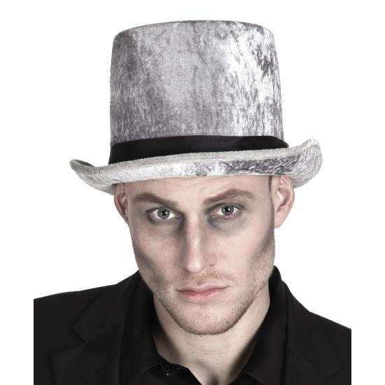 Hoge grafgraver hoed voor heren