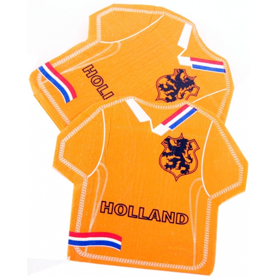 Holland t shirt servetten 16 stuks