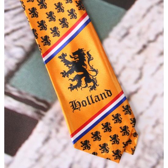 Hollandse stropdas kleine leeuwtjes