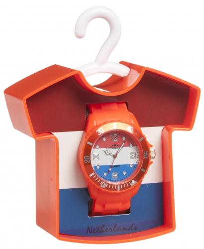 Horloge in Nederland kleuren