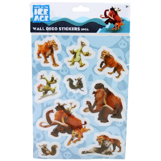 Ice Age 3D sticker vel
