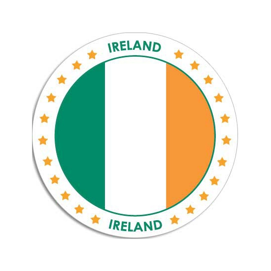 Ierland sticker