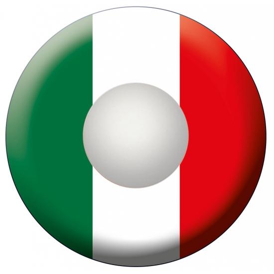 Italiaanse vlag kleurlenzen