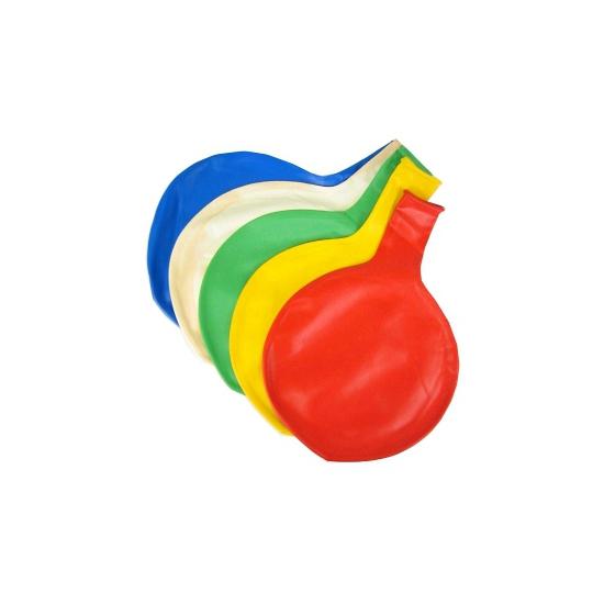Jumbo ballon blauw 65 cm