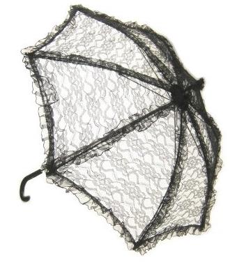 Kanten paraplu bydemeyer