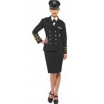 Kapitein mantelpakje voor dames