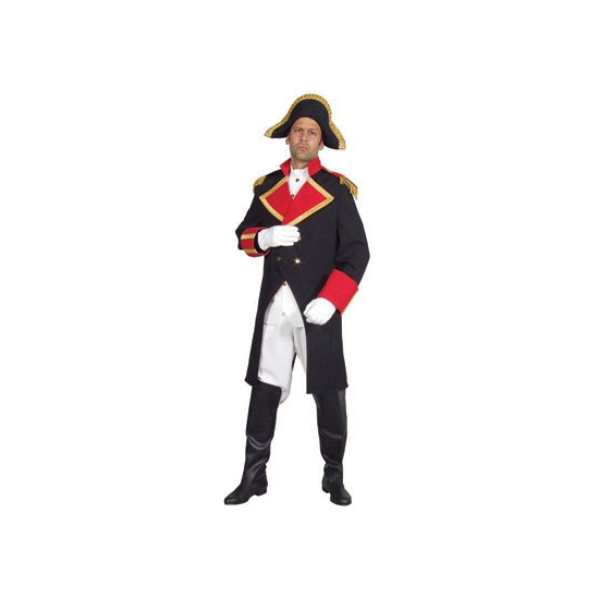 Kapitein verkleedkleding Napeleon
