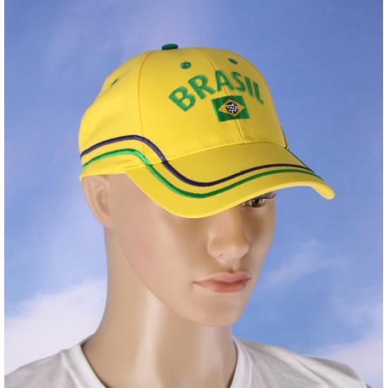 Katoenen Brazilie fan cap