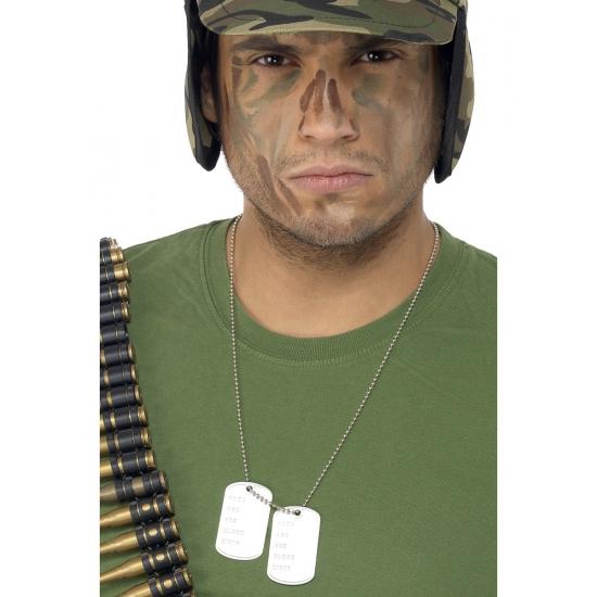 Ketting voor een soldaat Dogtag