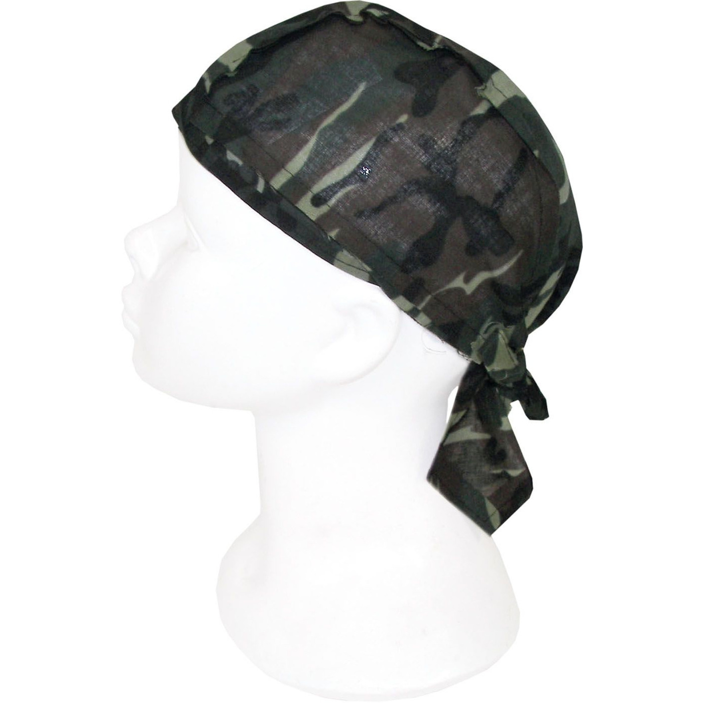 Kids bandana met camouflage print
