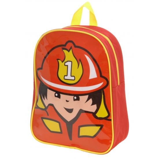 Kinder rugzak brandweer
