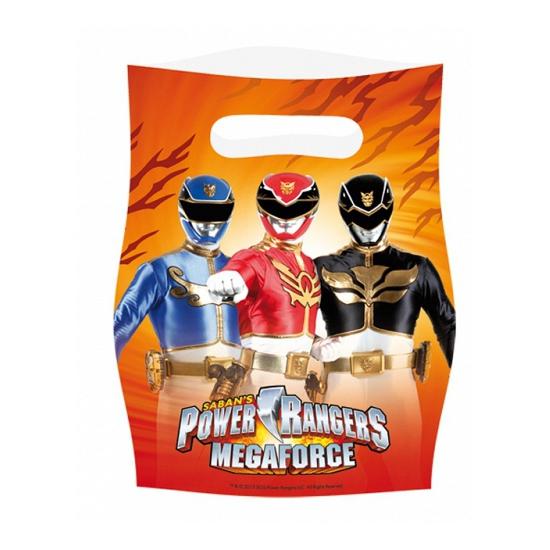 Kinderfeest zakjes Power Rangers