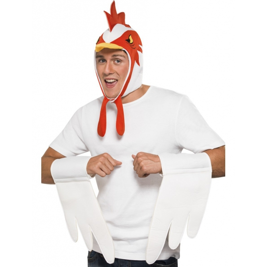 Kip verkleedset voor dames en heren
