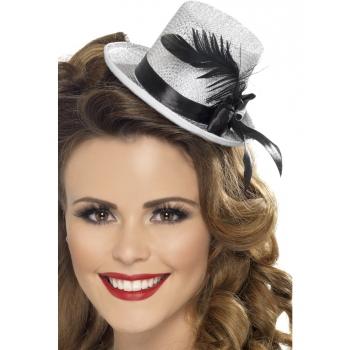 Klein zilver hoedje voor dames