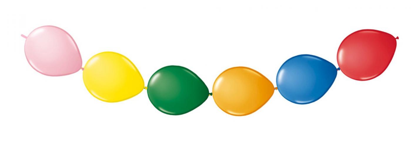 Knoopballonnen assortiment 8x