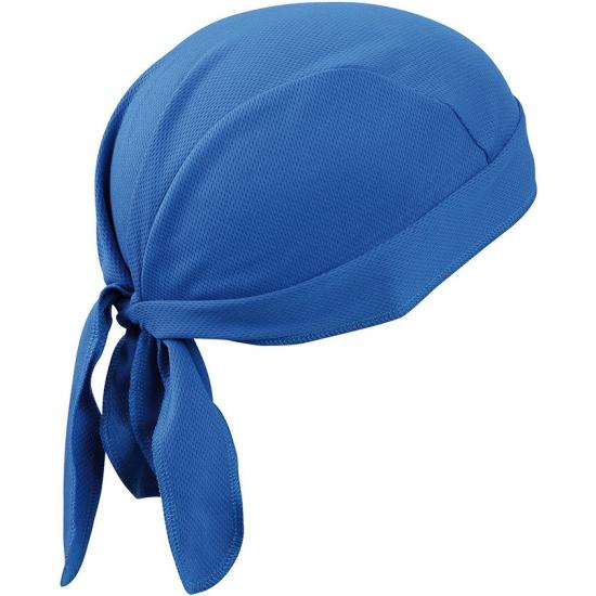 Kobalt blauwe sport bandana