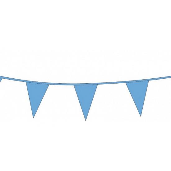 Kobalt blauwe vlaggenlijnen 10 meter