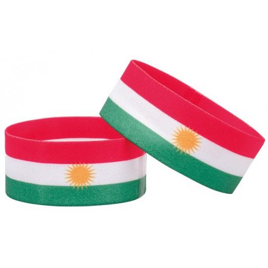 Koerdistan fan armbandje
