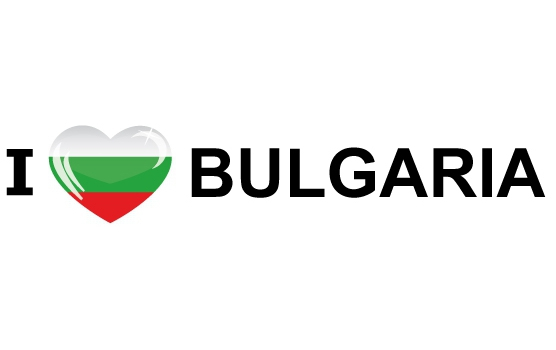 Koffer stickers I Love Bulgaria