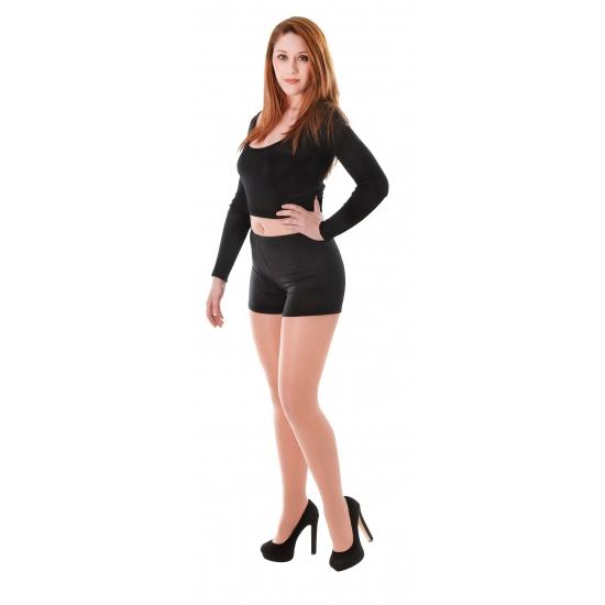 Korte broek dames zwart