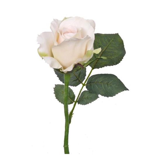 Kunst rozen wit 30 cm