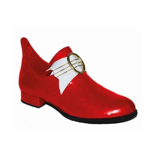 Lage rode middeleeuwse schoenen voor heren