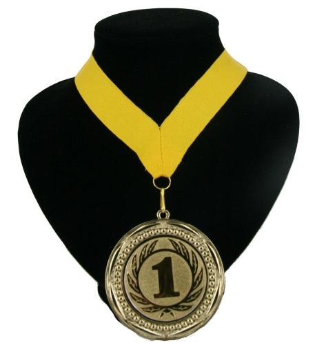 Landen lint nr. 1 medaille geel