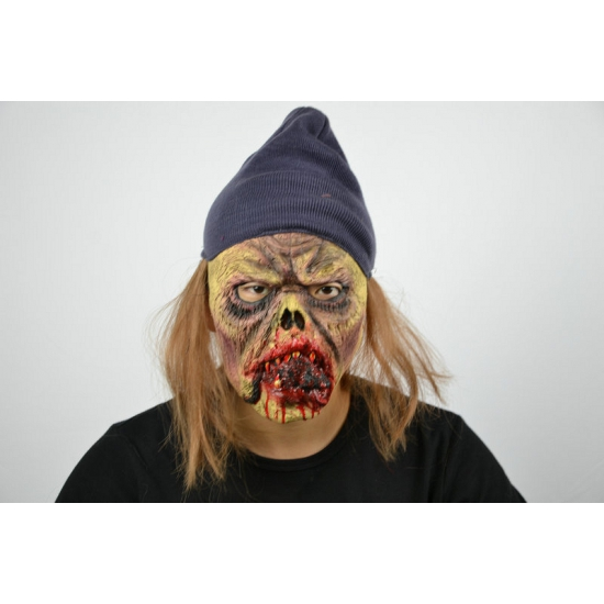 Latex horror masker griezel met muis