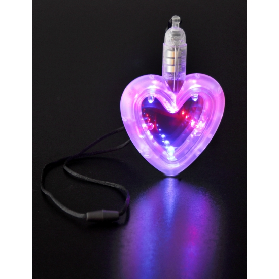 LED hartje aan ketting