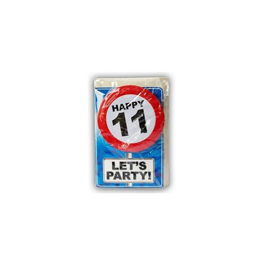 Leeftijd ansichtkaart 11 jaar