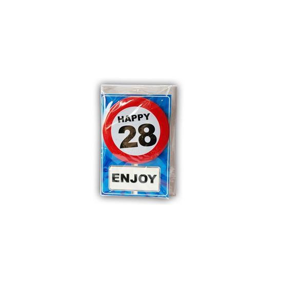 Leeftijd ansichtkaart 28 jaar