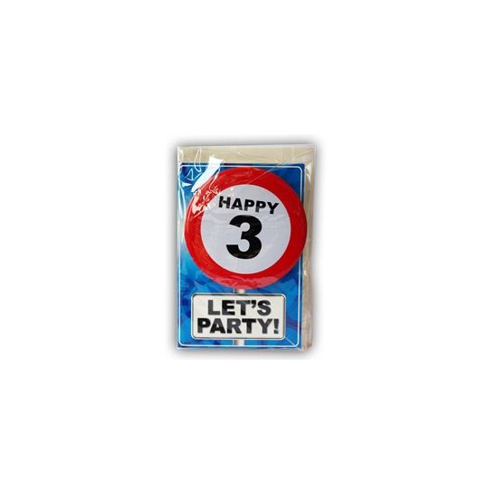 Leeftijd ansichtkaart 3 jaar