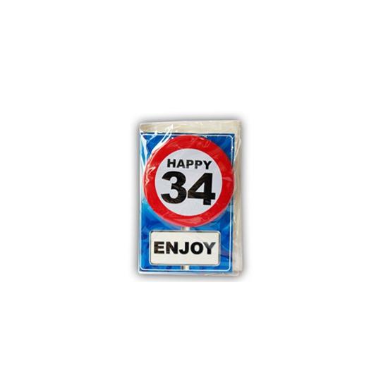 Leeftijd ansichtkaart 34 jaar