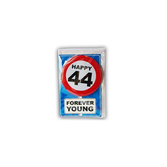 Leeftijd ansichtkaart 44 jaar
