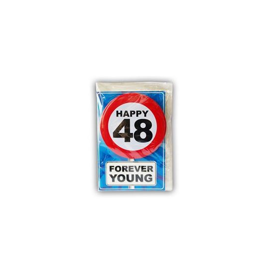 Leeftijd ansichtkaart 48 jaar
