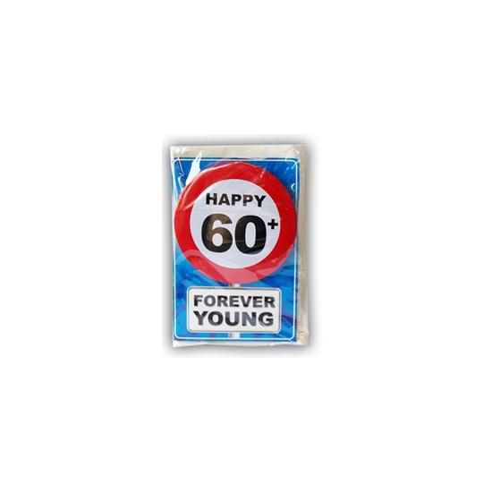 Leeftijd ansichtkaart 60 jaar