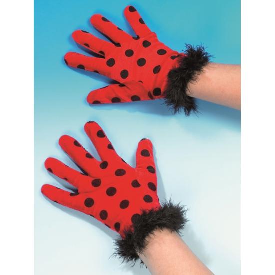 Lieveheerstbeestjes handschoenen