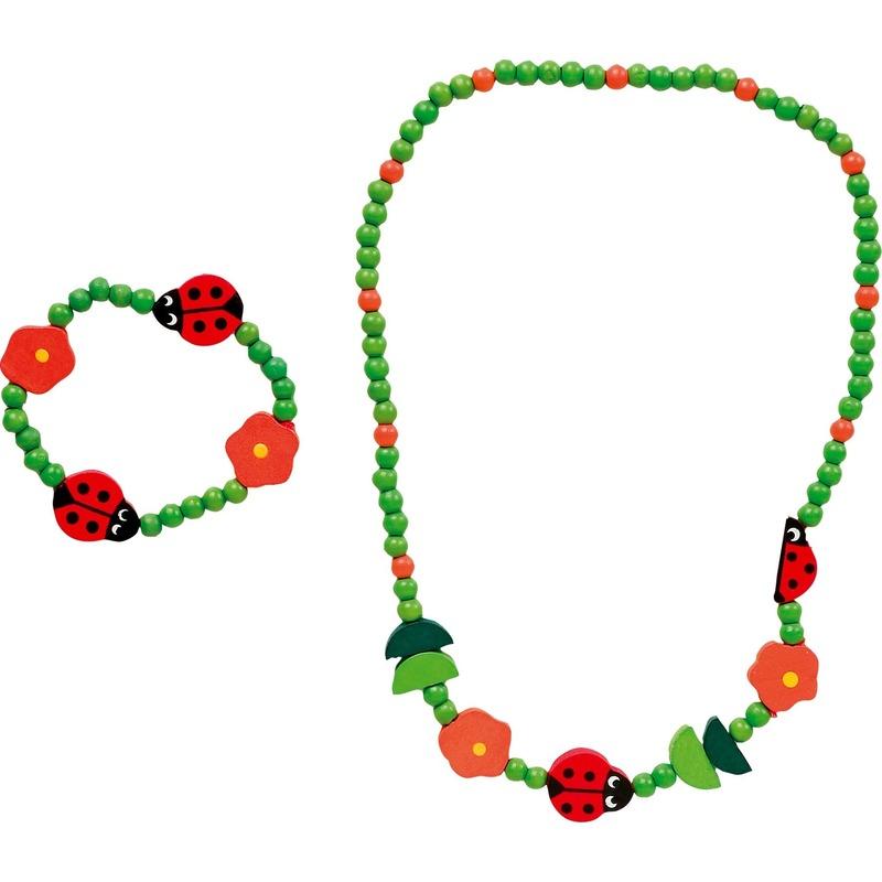 Lieveheerstbestje sieraden voor meiden