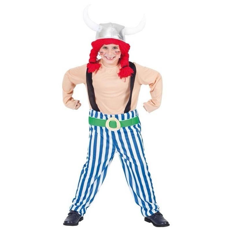 Look a like Obelix kostuum voor kinderen