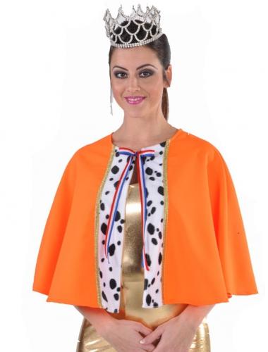 Luxe cape oranje