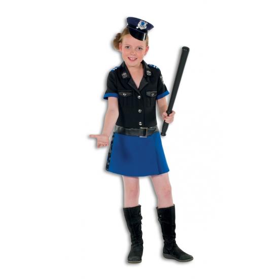 Luxe politieagent jurk voor meisjes