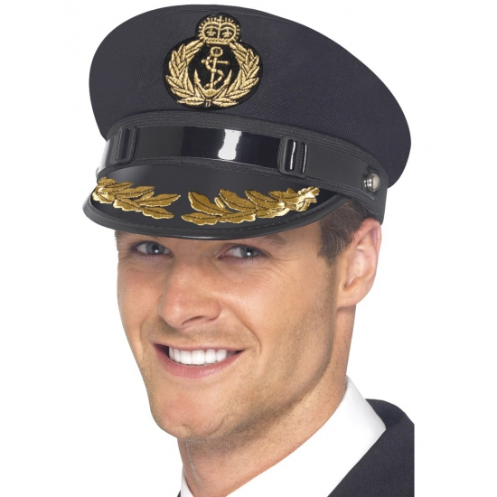 Marine hoed kapitein