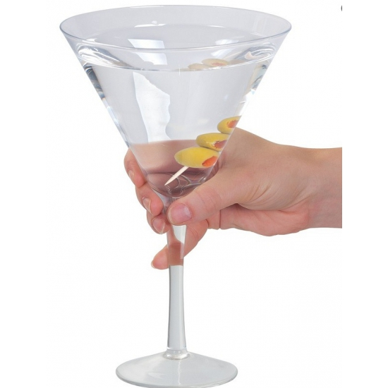 Martini glas extra groot