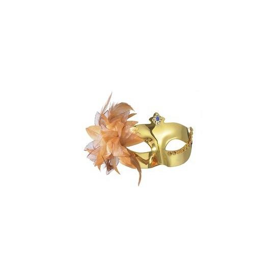 Metallic gouden theater oogmasker
